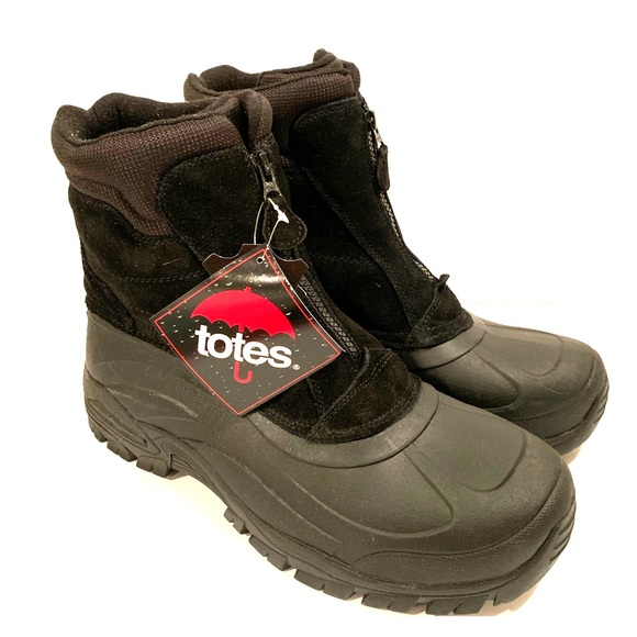 9e25793772ab Totes Mens Snow Boot Sz 13 Burst Winter Waterproof